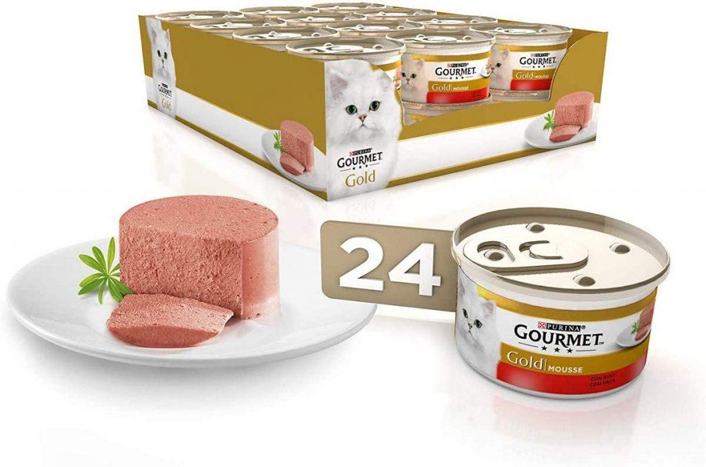 Comida enlatada par gatos, comida para gatos en lata