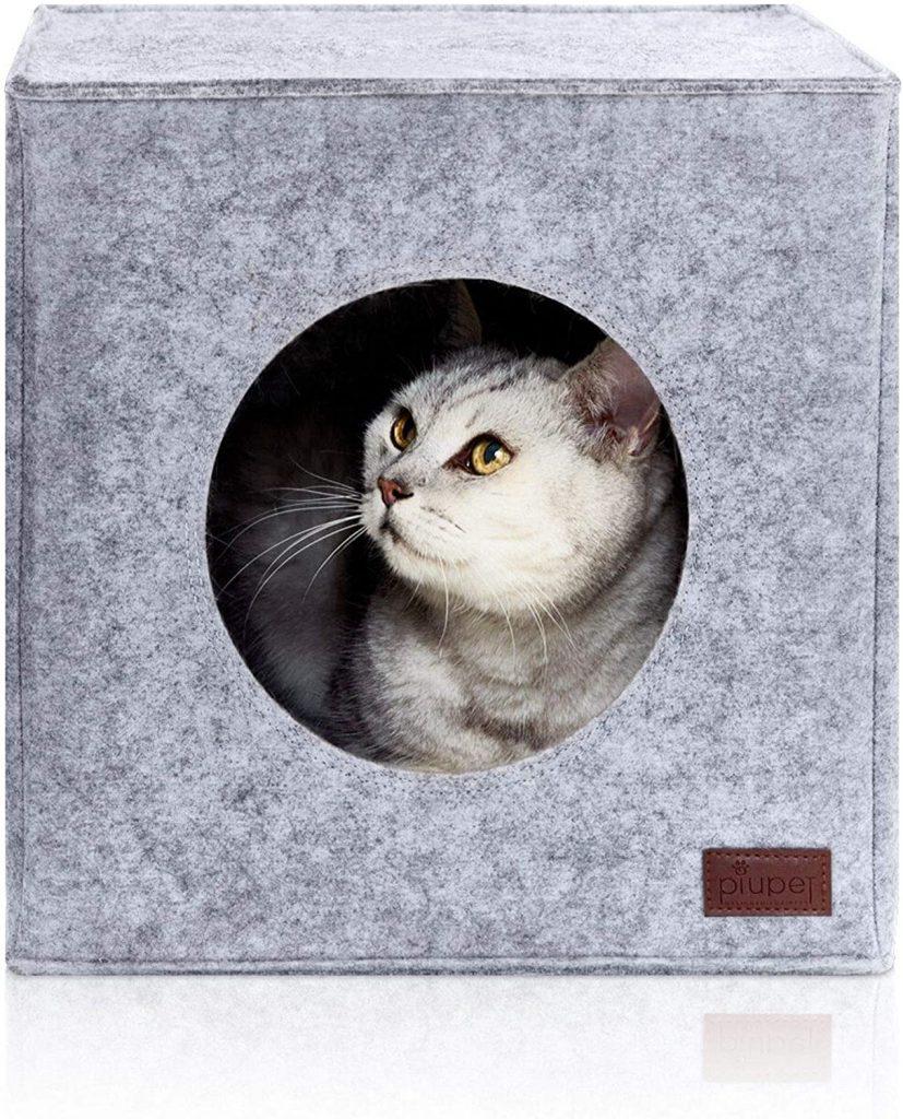 Casa para gatos. Mueble para gatos comodo