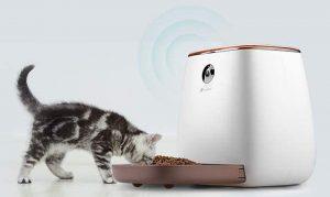 Comedero automatico para gatos