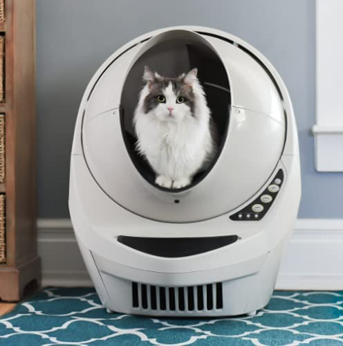 Arenero inteligente autolimpiable para gatos litter robot