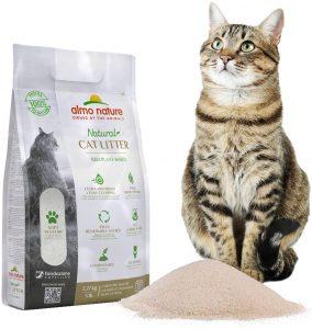 Arena Aglomerante para gato de fibra vegetal