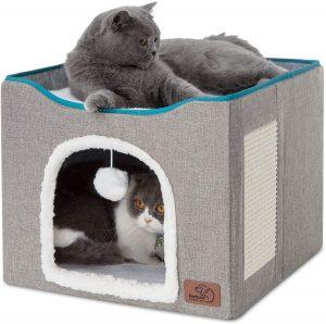 Cueva grande para gatos Bedsure