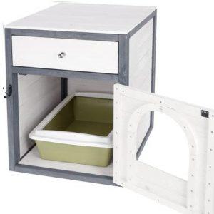 Mueble para arenero de gatos kerbl