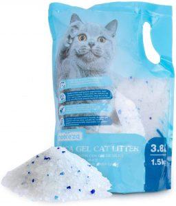 Arena de silice para gatos Nobleza