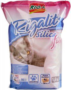 Arena de silice para gatos Riga